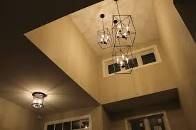 Foyer Lighting Essential Farmhouse Style