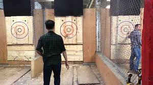 Rayraykayc Goes Axe Throwing At BATL Toronto: Some Slo-mo ... Bad Axe Throwing Where Lives Youtube Think Darts Are Girly Try Axe Throwing Toronto Star Outdoor Batl At In Youre A Add To Your Next Trip Indy Backyard League Home Design Ideas The Join The Moving Into Shopping Mall Yorkdale Latest News National Federation Menu
