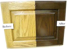 How To Restain Kitchen Cabinets Colors Restaining Kitchen Cabinets Before And After U2013 Truequedigital Info