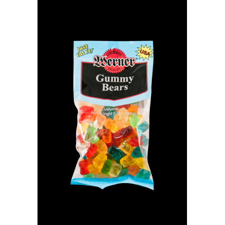 Werner Gummy Bears Candy - 6ct