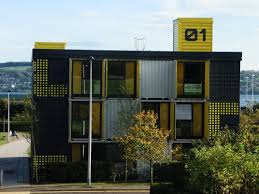 100 Cargo Container Buildings District 10 Building Made Out Of Shipping Containers In Dundee