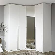 eckkleiderschrank modeno221 hochglanz weiß alpinweiß höhe