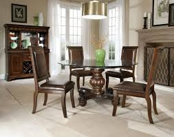 kitchen beautiful glass dining table round dining room chairs