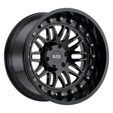 100 6 Lug Truck Rims Black Rhino Fury Wheels 20x95 X55 X1397 Gloss Black 12