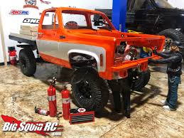 100 Rc Dually Truck EVERYBODYS SCALIN RC4WD WARN WINCH LENDS A HELPING HOOK Big