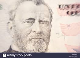 Ulysses S Grant On The 50 Dollar Bill