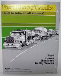 1982 Ford Heavy Truck What Is New In F L C CL B Series Dealer Specs ... 1979 Ford Trucks Parking Light Wiring Data Wiring 1992 L8000 Diagram All American Classic Cars 1982 Bronco Xlt Lariat 4x4 2door F150 Pickup 50 Truck Sales Brochure 1984 L9000 Truck Diagrams Electrical Drawing Schematics Introduction To Directory Index Trucks1982 Show Em Current 8086post Pic Page 53 Rowbackthursday Check Out This 7000 Sweeper View More 4k Wallpapers Design Sales Folder Courier Econoline Club Wagon