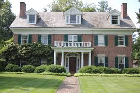 Colonial Homes by Georgian Colonial Revival Houses Are A Symmetrical Shs