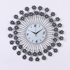 Decorative Wall Clocks Plus Large Metal Clock On The