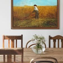 WInslow Homer Art In A Modern Farmhouse Dining Room
