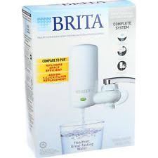 Brita Water Filter Faucet by Brita 42201 On Tap Faucet Water Filter System White Clo42201 Ebay
