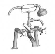 horus dover 3 hole basin mixer