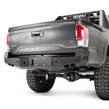 Fab Fours® - Toyota Tacoma 2016 Premium Full Width Rear HD Bumper Tacoma Bumper Shop Toyota Honeybadger Front Warn 2016 Ascent Full Width Black Winch Hd Diy Move Genuine Chrome Hilux Pickup Mk4 Ln165 2015 Vengeance Fab Fours Vpr 4x4 Pd102 Rally Truck Serie 70 Seris 2007 2018 1571 Homemade And Rear Bumperstoyota Youtube Amera Guard End Caps Outdoorsman Bumpers