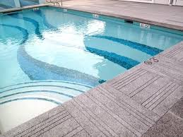 6x6 Glass Pool Tile by Aqua Blue Glass Subway Tile In Pool Modwalls Lush 4x12 Tile