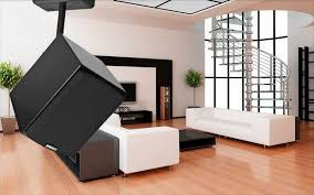 Angled In Ceiling Surround Speakers by Ceiling Mounted Surround Sound 12860
