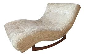 Vintage Mid Century Adrian Pearsall For Craft Associates Rocking Lounge  Chair