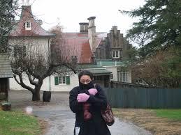 100 Sleepy Hollow House Charlie At Washington Irvings Home In NY