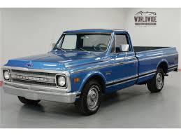 100 Chevy Truck 1970 Chevrolet C10 For Sale ClassicCarscom CC1173315