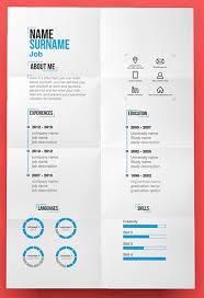 innovative resume templates Roho 4senses