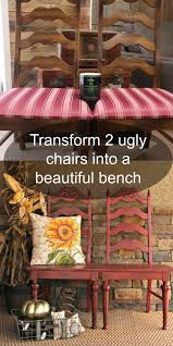 the 25 best chair bench ideas on pinterest unusual furniture