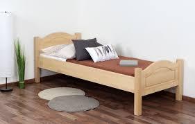 einzelbett gästebett buche massiv vollholz natur 113 inkl lattenrost 80 x 200 cm b x l