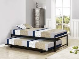 Sleepys Bed Frames by B39 Series 39 Twin Size Black Steel High Riser Day Bed Frame Beds