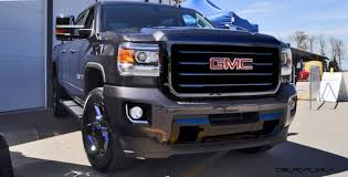 100 All Black Truck 2016 GMC SIERRA Terrain X Ops Hero Doubles Down On LEDs