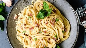 spaghetti alla carbonara was eigenes