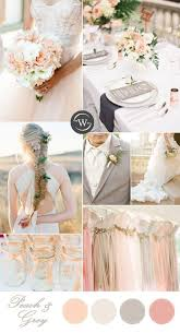 10 Romantic Spring Summer Wedding Color Palettes For 2017 Brides