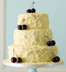Wedding Cakes Contemporary 3 Tier White Chocolate Ganache