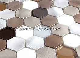 china aluminium mosaik fliesen steinfliesen matel