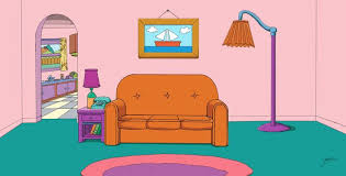 The Simpsons Living Room By Fullmetal870