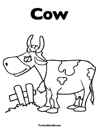COW COLORING BOOKS ONLINE