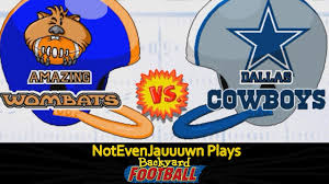 Game 2 Of Backyard Football | Dallas Cowboys VS Amazing Wombats ... Thursday Throwback Backyard Sports Rookie Rush Youtube Characters Minigames Trailer The Ultimate Summer Court Basketball Checkers And Chess Bowling Rembering Pics On Extraordinary Amazoncom Sandlot Sluggers Xbox 360 Video Games Football 09 Usa Iso Ps2 Isos Emuparadise Giant Bomb Download Images With Amazing