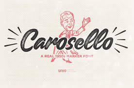 Carosello Free Vintage Font