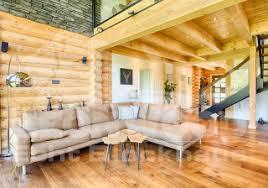 blockhaus kodiak country offener wohnbereich country
