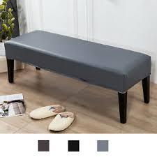 details zu weiche esszimmer bank deckt pu leder abnehmbare schlafzimmer sitzbank
