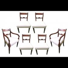 Set Of 6 English Georgian Dining Room Chairs - 2 Arm Chairs / 4 Side  Chairs, Circa 1820 Antiques From Georgian Antiquescouk Lovely Old Round Antique Circa 1820 Georgian Tilt Top Tripod Ding Table Large Ding Room Chairs House Craft Design Table 6 Chairs 2 Carvers In High Wycombe Buckinghamshire Gumtree Neo Style English Estate Dk Decor Modern The Monaco Formal Set Ding Room Fniture Fine Orge Iii Cuban Mahogany 2pedestal C1800 M 4 Scottish 592298 Sellingantiquescouk The Regency Era Jane Austens World Pair Of Antique Pair Georgian Antique Tables Collection Reproductions