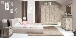 komplett schlafzimmer set schrank bett kommode retro in