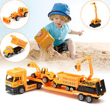 100 Toy Tow Trucks For Sale 4in1 Kids Toy Recovery Vehicle Tow Truck Lorry Low Loader Diecast