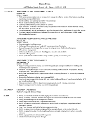 Associate Production Manager Resume Samples | Velvet Jobs Product Manager Resume Example And Guide For 20 Best Livecareer Bakery Production Sample Cv English Mplate Writing A Resume Raptorredminico Traffic And Lovely Food Inventory Control Manager Sample Of 12 Top 8 Production Samples 20 Biznesasistentcom