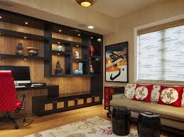 Beautiful Living Room Shelves Large Wall With Decor