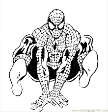 Spiderman4 Coloring Page Download