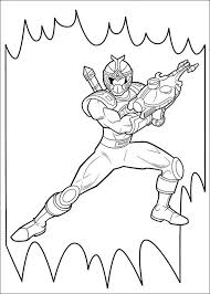 Fancy Power Ranger Coloring Page 38 For Your Pages Online With