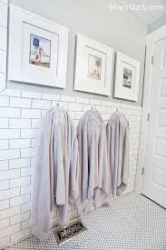 Home Depot Merola Penny Tile by Boys Bathroom Design Transitional Bathroom Benjamin Moore