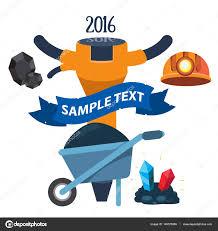 Tools Miner: Truck, Pick, Drill. — Stock Vector © Filkusto #149575986