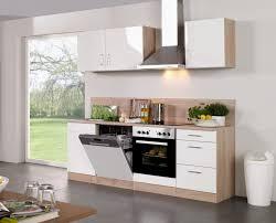hausdesign küchenzeile 240 cm mit kühlschrank kuchenzeile