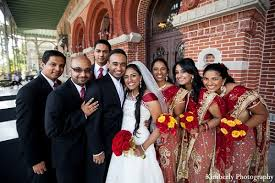 Bridal Party In Tampa FL Indian Wedding By Kimberly Photography