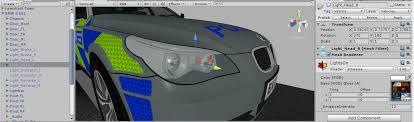 Vehicles with dynamic lights e g headlights indicators
