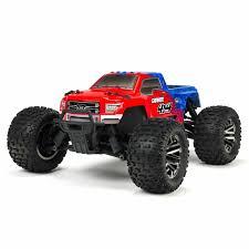 100 Ebay Rc Truck ARRMA 110 ARA102720T2 Granite 4X4 3S BLX 4WD RC RTR W Radio REDBLUE